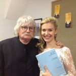 With composer Karl Jenkins, world première of 'The Healer'